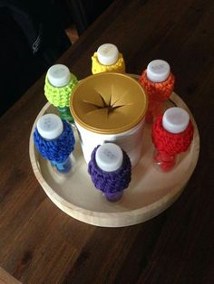 Flaschenstöpsel sortieren