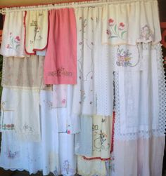 DEJA VU  Handmade Gypsy Curtains by BabylonSisters on Etsy