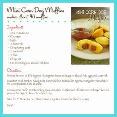 Mini Corn Dog Muffins - Cupcake Diaries