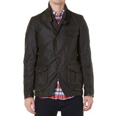 Barbour Dept. (B) Beacon Sports Jacket (Olive)