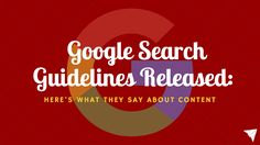 Here's an amazing and useful peek behind the Google algorithm. Great insights for bloggers, marketers, writers, etc.