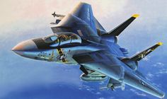 F14-A Tomcat Jolly Rogers (Shigeo Koike) Military Jets, Military Aircraft, Air Fighter, Fighter Jets, F14 Tomcat, Aircraft Painting, Jolly Roger, Jet Plane, Aviation Art