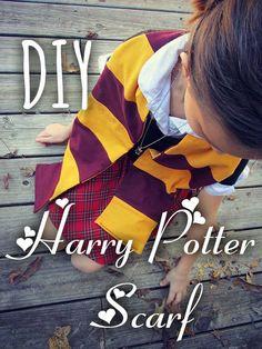 DIY+Harry+Potter+Scarf!+{Quick+&+Easy}
