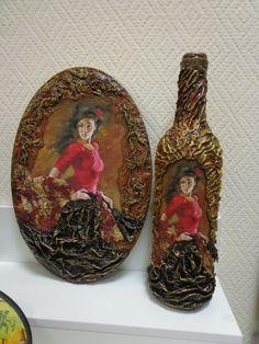 ДЕКОР стекла и предметов - Сайт школа рукоделия