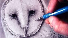 How to Draw a Barn Owl by LethalChris Drawing – Hildur.K.O