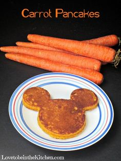 Carrot Pancakes- A kid favorite and an easy way to add veggies in their diets!
