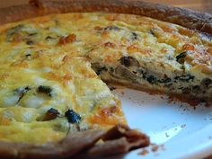 I made my first quiche today! I don't do eggs.. I know I know, who doesn't like eggs?? Unfortunately…