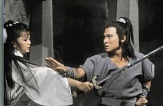 Xiao Long Nu Little Dragon Girl (Idy Chan 陳玉蓮) and Yeung Gor (Andy Lau 劉德華) in the 1983 classic Return of the Condor Heroes 神鵰俠侶. The best version ever! In this scene little dragon girl thinks she is going to die and if she dies, her disciple Yeung Gor is going to die with her! One of the best couples in fictional wuxia. Louis Cha, Jin Yong, Andy Lau, Hong Kong Movie, Childhood Stories, Dragon Girl, Girl Thinking, Little Dragon, Drama Series