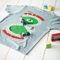 race track t shirt by twisted twee | notonthehighstreet.com