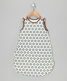 Blue & Mint Checkerboard Organic Sleeping Sack - Infant by Organic Natural Charm on #zulily today!  $27.99