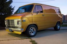 custom chevy cargo custom vans | Here is how it sits at the end of 2011. The outside is really looking ...