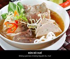 Bún Bò Huế - Huế #Travel #VietNam #Hue #Dacsan