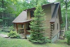 Maggie Valley Cabin Rental: Creeks, Hot Tub, Wifi, Campfire, Wood Fp, Private, Covered Deck,large Wooded Lot | HomeAway