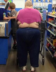 45 Funny Pics Of Most Ridiculous People Of Wal-Mart - Page 5