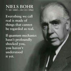 Quantum mechanics, by Niels Bohr
