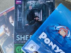 DVD Supernatural 10, Sherlock 4, Ponyo