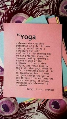 Very powerful and so true! I have been on this transformation the past year. Yoga is AMAZING!! #YogaInspiration