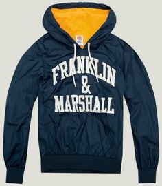 "FM Men's nylon and fleece jacket ""Franklin & Marshall"""
