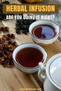 Are you doing it right Herbal Infusion? Great informative video shows everything about herbal infusion. Watch this and find out if you are doing herbal infusion in a right way.
