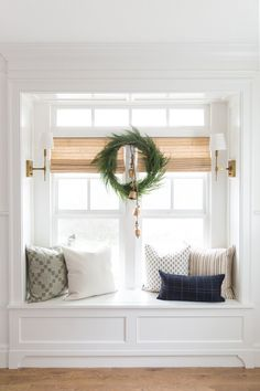 Kitchen Living Rooms Remodeling Faux Native Cedar Wreath - Welcome your guests with a wintertime staple. The Faux Native Cedar Wreath is festive, but beautiful all winter long with its long and lush branches. Each McGee Home Decor Kitchen, Home Decor Bedroom, Bedroom Nook, Kitchen Paint, Kitchen Living, Kitchen Ideas, Master Bedroom, Cute Dorm Rooms, My New Room