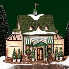 """Department 56: Products - """"Tavern In The Park Restaurant"""" - View Lighted Buildings  wish list"""