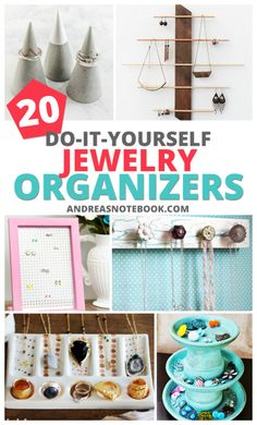 A clever and cheap DIY hack to organize your jewelry Diy
