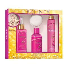 Fantasy By Britney Spears  Fragrance Bath Set - 4pc