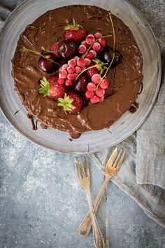 saftiger Schokoladenkuchen einfach lecker