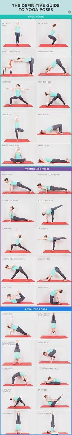 "The only #yoga poses you really ""need"" to know."