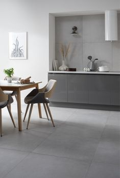 Create a spacious and luxurious statement with Gemini Tiles' sophisticated new Loft collection Grey Kitchen Tiles, Large Format Tile, Tiles Texture, Neutral Colour Palette, Porcelain Tile, Gemini, Living Spaces, Loft, Luxury