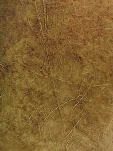 Christopher Lowell uses brown craft paper as smooth or crumpled as you like, hang it like wall paper, then paint over it.  Great texture and saves $ this way!
