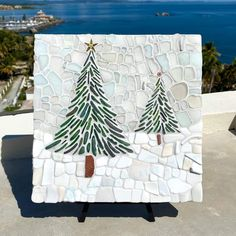 Mosaic Crafts, Mosaic Projects, Mosaic Art, Mosaic Glass, Mosaic Tiles, Stained Glass, Mosaic Designs, Mosaic Patterns, Christmas Mosaics