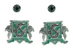 Harry Potter Slytherin House Crest Stud Earring Set: Amazon.ca: Jewelry