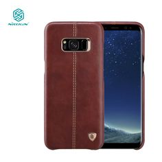 e5ca67aee8aa9 Nillkin Englon phone bags for samsung galaxy s8 case luxury PU Leather  Vintage back cover s8