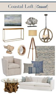 Coastal Loft Style | What's it all about? Find out more in our latest blog post! | Paradigm Interiors is a residential interior design firm located in the Orlando area that specializes in eDesign nationwide and in-home design for local clients.