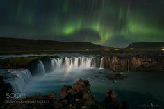 Rainbow under the Aurora by chenxistanley. Please Like http://fb.me/go4photos and Follow @go4fotos Thank You. :-)