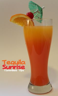 Ingredients 4 oz orange juice 2 oz tequila 1/2 oz grenadine orange slice for garnish maraschino cherry for garnish