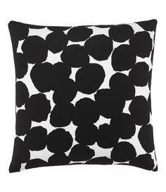 "Black/White:kate spade new york Random Dot 18"" Square Pillow"