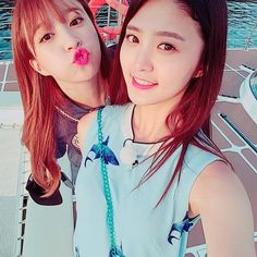 Hani and Jeonghwa