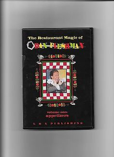 THE RESTAURANT MAGIC DVD DAN FLESHMAN VOLUME ONE APPETIZERS TRICKS Collectibles:Fantasy, Mythical & Magic:Magic:Tricks www.webrummage.com $15.99