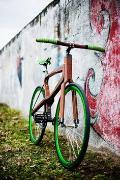 Woobi, Wooden Bicycle by Matteo Zugnoni | Gessato Blog
