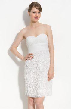 My bridesmaid's dress in white!