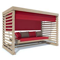 Hollywoodschaukel-Tiffany-Holz-Gartenschaukel-Schaukelbank-Gartenmoebel-4-Sitzer