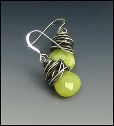Laura Bracken Designs Blog: How to Wire-Wrap Briolette Gemstones a Photo Tutorial