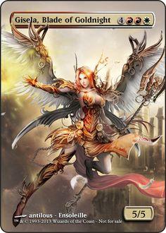 Gisela, Blade of Goldnight (Version 2) by ASliceOfUnagi on deviantART