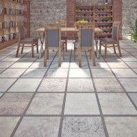 Italtile Gres Patchwork Matt Glazed Ceramic Tile 450x450mm