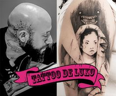 Cerca de 7 mil pessoas estão em uma lista de espera pra tatuar comVictor Montaghini!