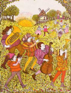 The Troll Music by Anita Lobel