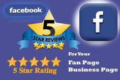 Get 5 Star Facebook Reviews. USA Based Account and Permanent with likes and follows.     http://www.fiverr.com/shahin_shahroz/give-12-unique-positive-5-star-facebook-review-with-12-likes-and-follow