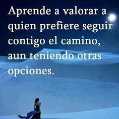 Aprende a valorar...